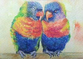 Love Birds by Giselle-M
