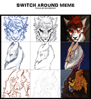 Switch Around Meme by Coalbones