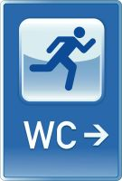 WC sign by Jolik
