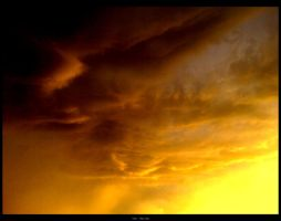Burning clouds by TheHer3tic