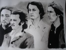 The Beatles by amused-mai