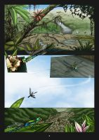 Comic page 1 by HenrikeD