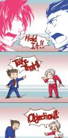Ace Attorney Shouts! by drunkenturnip