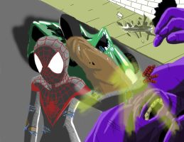 Ultimate comics spiderman by Heartless199