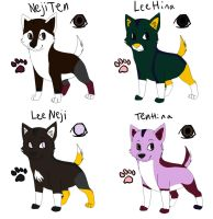Narutail pups point adopts2 by DarkChocaholic