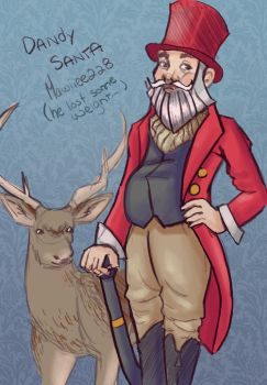 Dandy Santa by mawiiee228