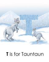 T is for Tauntaun by JediSeeker1