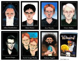 Harry Potter Card Set by StarryAugen
