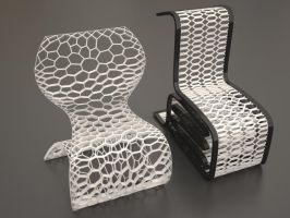 Free Contemporary Chair Models by LuxXeon