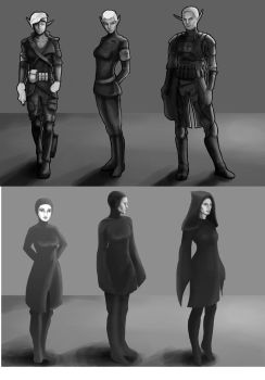Concept Sketches by CintelTex