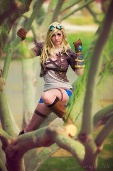 Ezreal by MartinWongArts