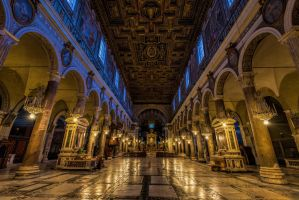 Santa Maria in Aracoeli - Interior by roman-gp