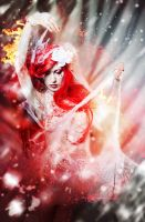 Freezing fire II by Philaeria