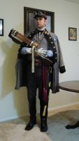 Confederate Steampunk Captain by Challenger70TA