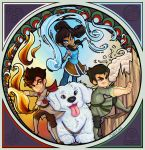 Korra - Art Nouveau by cute-loot