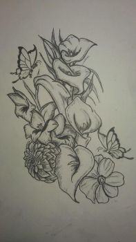Tattoo design by melodywinters