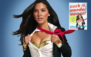 Olivia Munn Book Cover by CelesteGallery