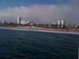 Santa Monica Pier by martinx17