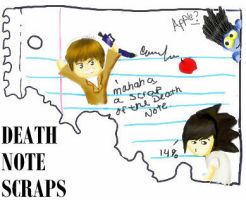 Death Note Scraps by HoldYourBreathXD