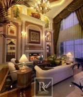 Living Room by RosellieDesigner