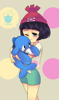 Leave Popplio Alone by framboosi