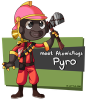 Meet AtomicRays Pyro by TalinComill