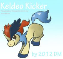 Pokemon Rhythm -Keldeo Kicks (Animation) by creationbrewahoi