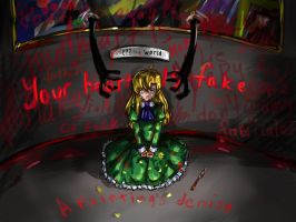 Ib-a painting's demise by Angelmewkaro