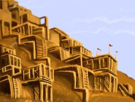 Mountain Outpost -- WIP by GoShorty