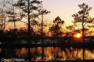 Munden Point Park Sunset 4 by poetcrystaldawn