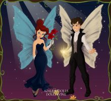 Fairy Anastasia and Dimitri going to the Ballet by ArielxJim08