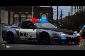 Drift Police by MestariTikku