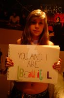 we are all beautiful. by acousticsarelove