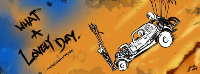 Mad Max Fury Road by BLACK4REST