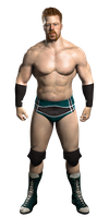 WWE SvR2011 - Sheamus PSD by DecadeofSmackdownV2