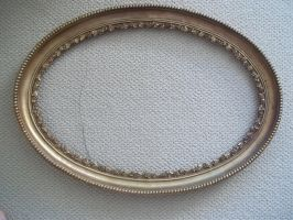 Abandoned Oval Mirror Frame by specialoftheweek