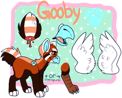 Another Another Gooby Ref by BearSmug