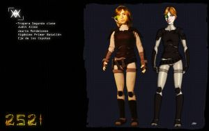 Judit Concept to Puppet by XAVERIVS