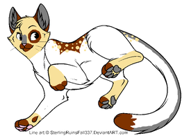 Cat design for contest by Shadowdannie