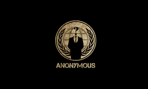 Anonymous HD Wallpaper [Dirt] by VostroOG