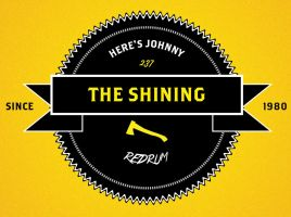 hipster logo the shining by Jamielaw