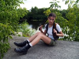 Young Lara Croft by TanyaCroft