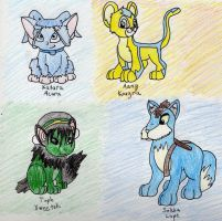 Avatarded Neopets by SuperSilkie