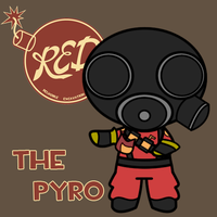 TPuff 2 - Red Pyro by BucketHat