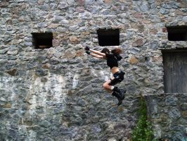 Lara Croft - Jump by TanyaCroft