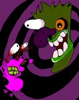 OLLLLD Courage the Cowardly Dog fanart by TMNT1984