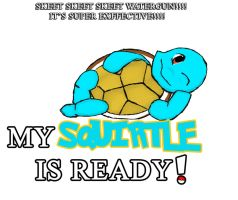 My Squirtle is ready.... by CrossedRunner