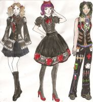 Fall Collection designs- WIP by keberle