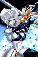 Lady Death Cover by Axebone