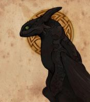 Toothless by Fatestouch